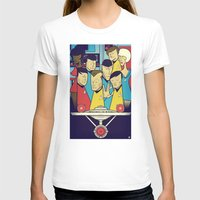 star T-shirts featuring Star Trek by Ale Giorgini