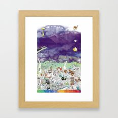 you're COLOR - Page 7 Framed Art Print