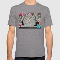 Submissive Capacity Mens Fitted Tee Tri-Grey SMALL