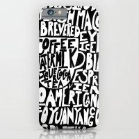 Must Have Coffee : Black iPhone 6 Slim Case