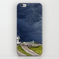 Storm Near New Orleans iPhone & iPod Skin