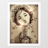 Moksha Art Print