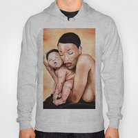 Mother and baby.  Hoody