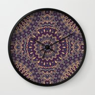 Mandala 91 Wall Clock