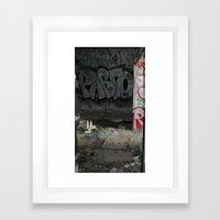 Demolished Providence Framed Art Print