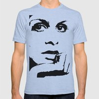 Gettin' Twiggy wit It. Mens Fitted Tee Athletic Blue SMALL
