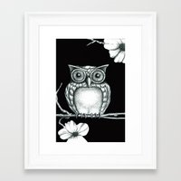 Fictional Owl Framed Art Print