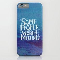 Happy Snowman Slim Case iPhone 6s