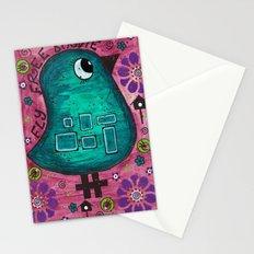 Fly free birdie Stationery Cards