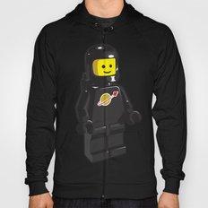 Vintage Lego Black Spaceman Minifig Hoody