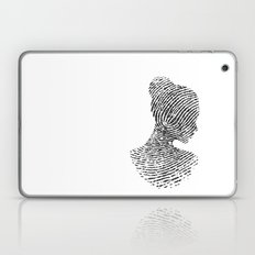 Fingerprint Silhouette P… Laptop & iPad Skin