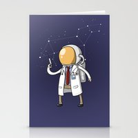 Dr. Spaceman Stationery Cards