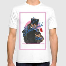bastille day White Mens Fitted Tee SMALL