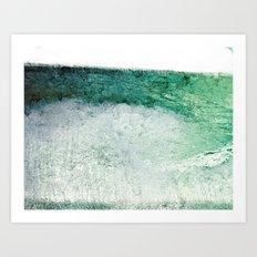 Erosion Art Print