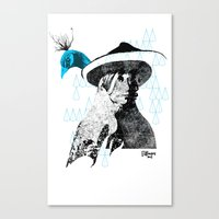 tewa girl 2 Canvas Print