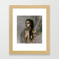 The Nameless III.  Framed Art Print