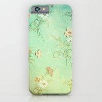 iPhone & iPod Case featuring Vintage Flowers XXIII - for iphone by Simone Morana Cyla