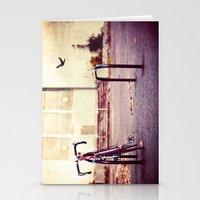 Abandoned bike Stationery Cards