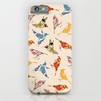 Vintage Wallpaper Birds iPhone 6 Slim Case