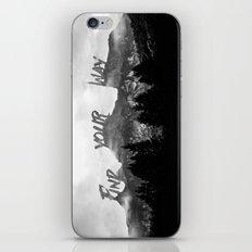 Wisdom of Nature iPhone & iPod Skin