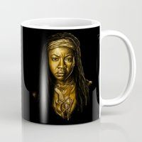 Michonne Golden Mug
