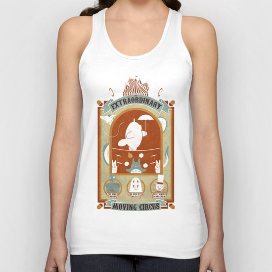 The Moving Circus Unisex Tank Top