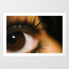 Those Eyes Art Print