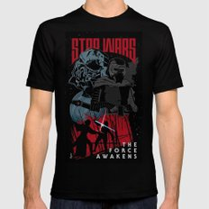 Kylo Ren Mens Fitted Tee Black SMALL