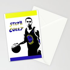 Stephen Curry Golden State Point Guard  Stationery Cards