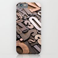 iPhone & iPod Case featuring Numbers - Typography Photography™ by Typography Photography™