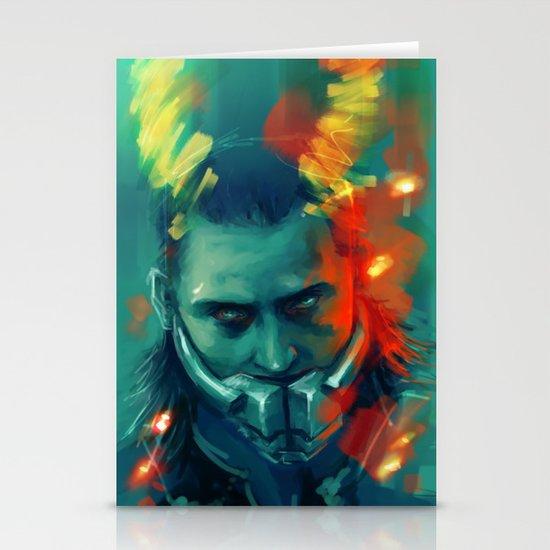 Loki Stationery Card