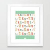 Business Cats Framed Art Print