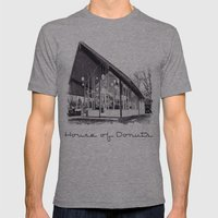House Of Donuts Mens Fitted Tee Athletic Grey SMALL