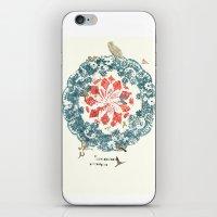 CALEIDOSCOPIO ORNITOLÓGICO iPhone & iPod Skin