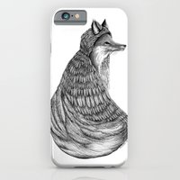 iPhone & iPod Case featuring Fox- Feathered. by Jess Polanshek