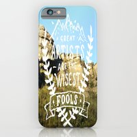 Great artists are the wisest fools iPhone 6 Slim Case