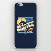 Halloween Moon iPhone & iPod Skin