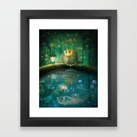 Crown Prince Framed Art Print