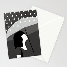 close to tears Stationery Cards