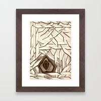 Where There's A Will... Framed Art Print