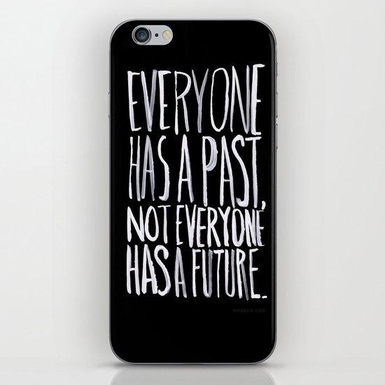 Past/Future iPhone & iPod Skin