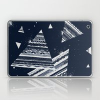 Pattern Doodle Two (Invert) Laptop & iPad Skin