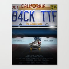 Back To The Future - Bru… Canvas Print