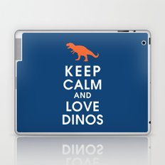 Keep Calm and Love Dinos Laptop & iPad Skin
