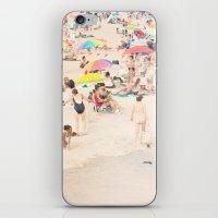 Beach Crowd iPhone & iPod Skin
