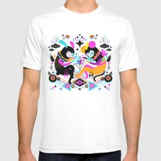 Hocus Pocus! SMALL Mens Fitted Tee White