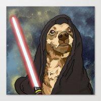 Sith Bowser [FANDOG] Canvas Print