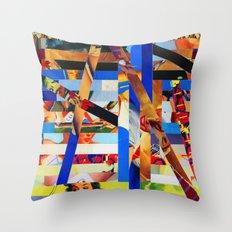 Brandon (stripes 1) Throw Pillow