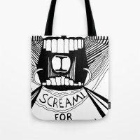 I Scream for Ice Cream Tote Bag