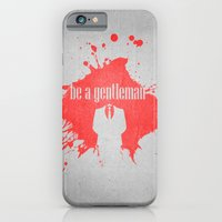 Be A Gentleman iPhone 6 Slim Case